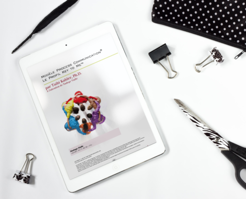 iPad inventaire de personnalité process com