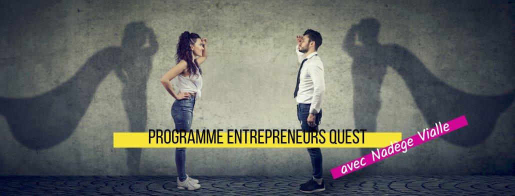 Bannière programme Entrepreneurs quest