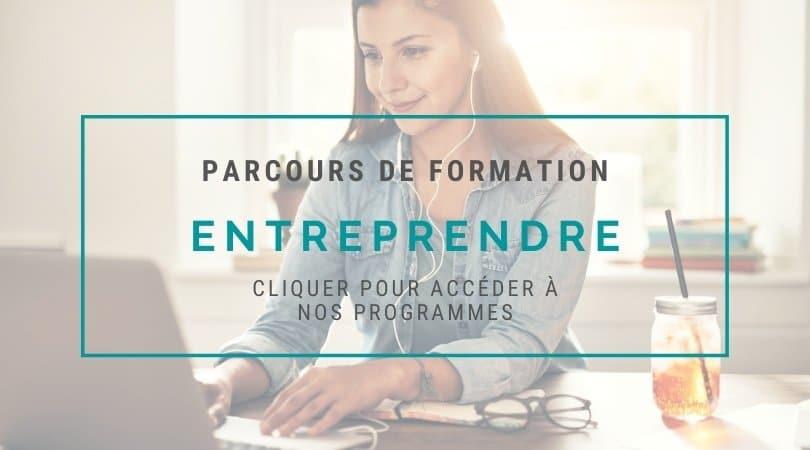 Parcours de formation Entreprendre avec Nadege Vialle