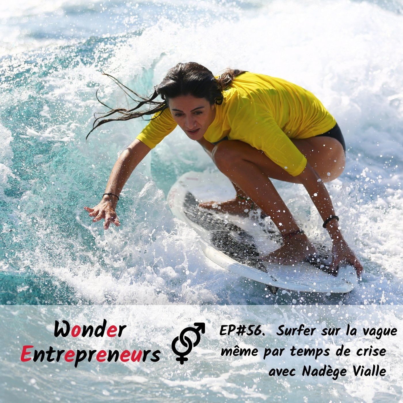Ep 56 Comment Surfer sur la vague même par tempse crise podcast wonder entrepreneurs
