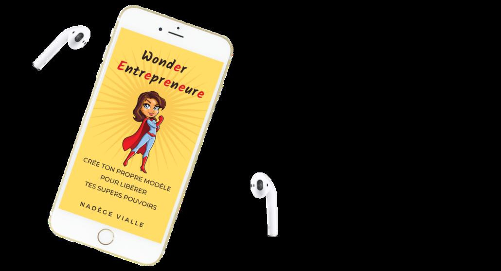 exercices audio offert livre wonder entrepreneure par nadege vialle