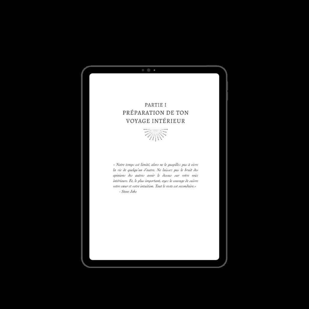 iPad livre Wonder entrepreneure